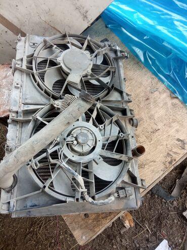 Радиатор сборе от Митсубиси работает отлично!