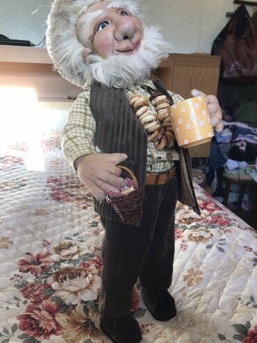 шины 195 65 r15 лето купить в Кыргызстан: Интерьерная кукла «домовой» рост 65 см