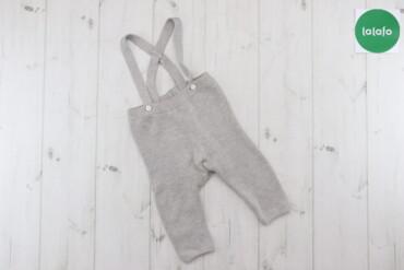 Дитячі в'язані штани на підтяжках Mayoral, вік 4-6 міс., зріст 70 см