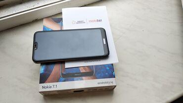 Nokia 7.1 Qeydiyyatlı Zəmanətli (nömrə taxılmayıb) 21D şüşə