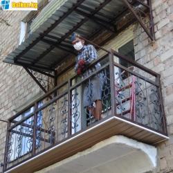 Расширение балконов,утепление балконов,отделкаУтепление балконов и