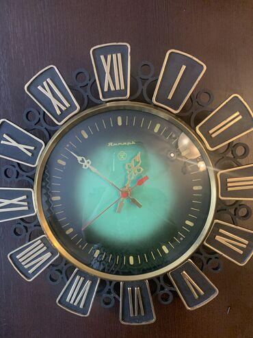 "Антикварные часы в Кыргызстан: Советские чаы ""ЯНТАРЬ"", б/у"