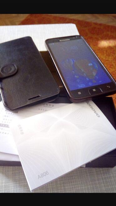Смартфон lenovo a316i black - Кыргызстан: Продаётся восьмиядерный телефон lenovo a806 в отличном состоянии