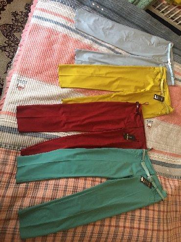 Женские брюки в Кыргызстан: Связи закрытием бутика распродаём новые Турецкие Люксовые вещи Голубые