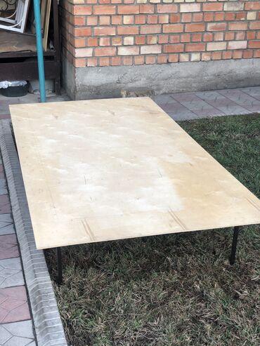 Требуется кухонный работник - Кыргызстан: Продаются два стола,материал фанера Отлично подойдут для зала Длина:2