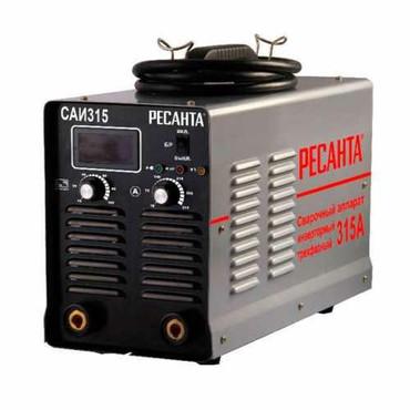 Сварочный апорат - Кыргызстан: Инверторный сварочный аппарат Ресанта САИ-315 3ФBrand:РесантаОбщие
