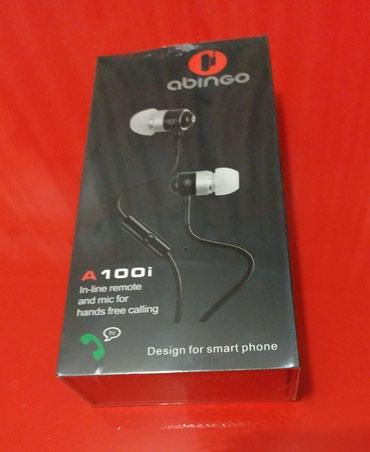 Продаю вакуумные наушники Abingo A100i - в Бишкек