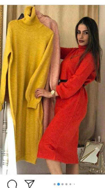 Haljina zara model ostala samo jos u braon boji