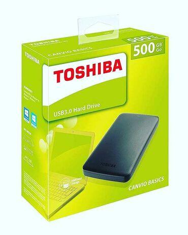 2tb hdd toshiba - Azərbaycan: 500gb Toshiba hdd 85aznYenidir. İşləməyinə 3ay zəmanət verilir