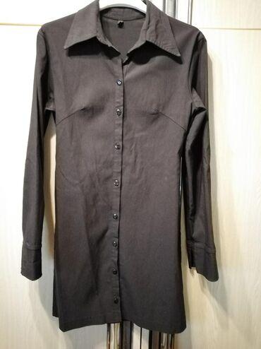 Košulja ženska duža kao tunika Veličina S Cena 450 din