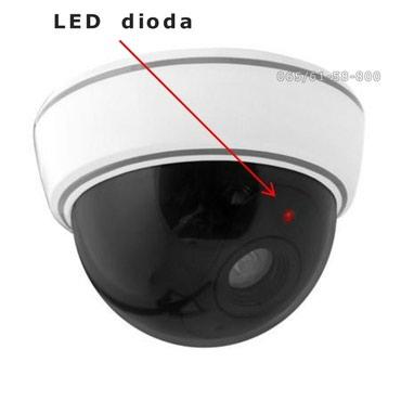 Lažna video kamera - kamera za video nadzor sa LED svetlom, model - Pancevo