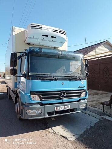 Перевозка рефрижератором - Кыргызстан: Грузовые перевозки Кыргызстан, Казахстан холодильник 8-9тонн