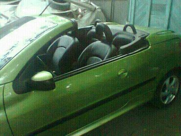 Peugeot 206 CC 2002 в Кок-Ой