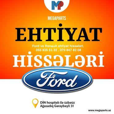 Ford Fusion, Focus, Fiesta, Kuga, Mondeo, Transit, Connect ve sairə