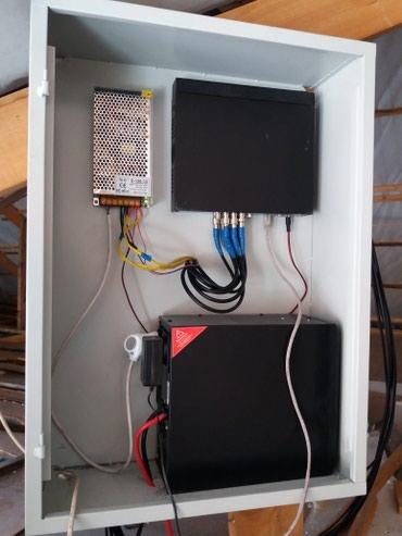 Установка и ремонт видеонаблюдения, в Бишкек