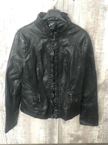 Куртка кожзам. Размер 44