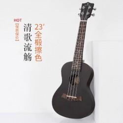 Черные гавайская гитара укулеле концерт, ukelele concert 23дюйма, от