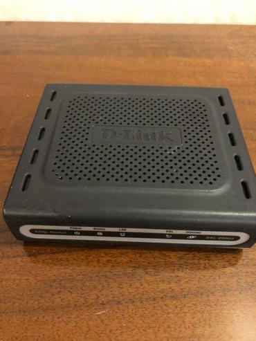 Bakı şəhərində D-link modemi,amma blok pitaniyasi yoxdur