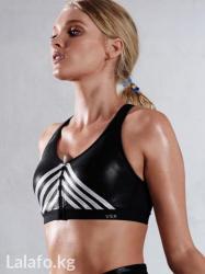 victoria-secret-bra в Кыргызстан: Knockout by victoria's secret front-close sport bra. цвет fashion show