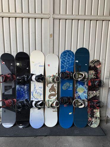 Сноуборды - Кыргызстан: Продаю сноуборды очень хорошем состоянии все почти как новые качествен