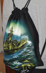 Ranac - vreća sa pomorskim motivom sa slike, za ljubitelje brodova i - Belgrade