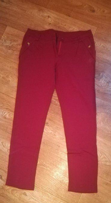 Po-stvari-dvaput - Srbija: Bordo pantalone velicina 2XL al odgovaraju XL nosene dvaput
