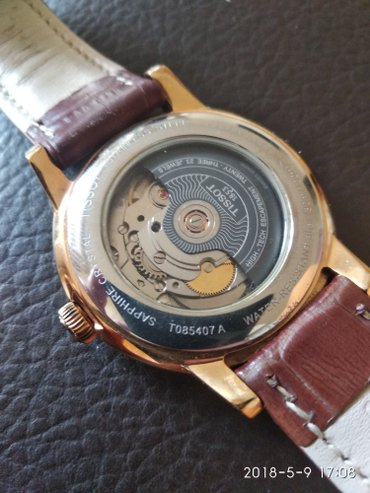 Часы Tissot . коробка не сохранилась. покупались у официального