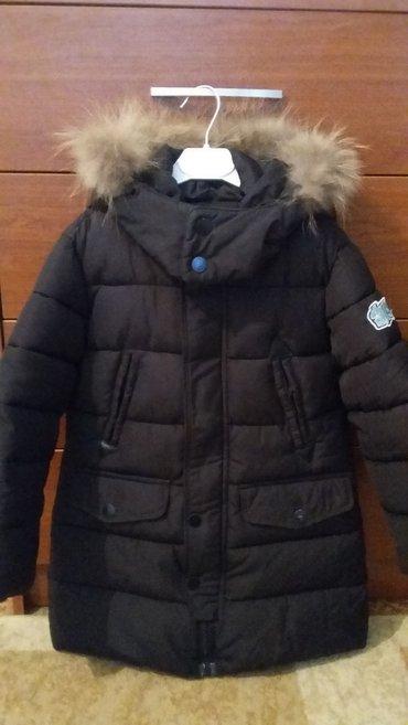 1. Куртка зимняя на 5-6 лет,наполнитель холофайбер,мех в Бишкек
