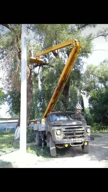 Вышка Автовышка высота 20 метров выезд сразу на 2 часа в Бишкек