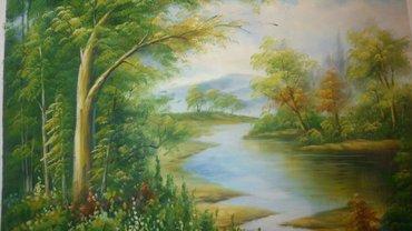 Авторская работа картина размер 50х60, в Бишкек