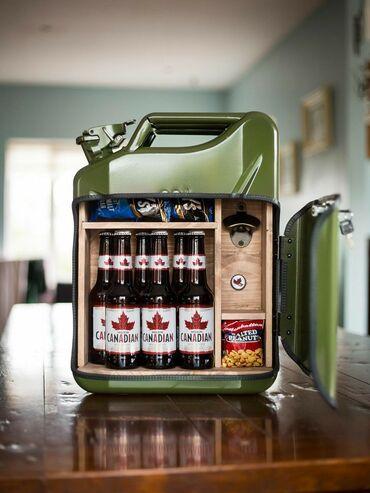 Kuća i bašta - Srbija: Kutija od kanistera, može vam poslužiti kao vaš mini bar koji možete