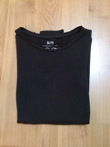 Majica sl - Srbija: Basic braon slim ženksa majica. Skroz uz telo, puno elastina. Veličina