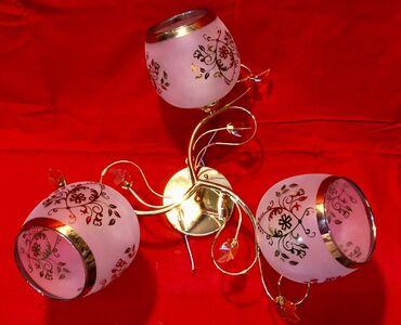 3 lampalı listur çilçıraq