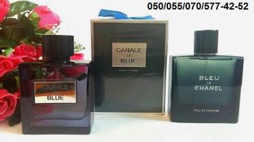 Bakı şəhərində Chanel Bleu De Chanel for Men Eau De Parfum kişi ətrinin dubay