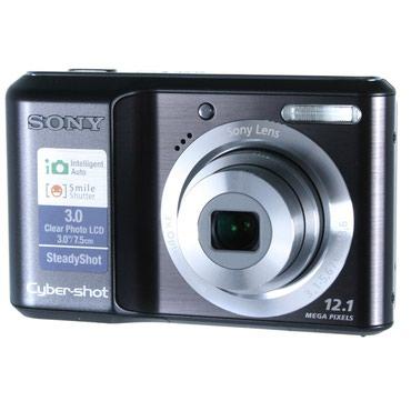 Фотоаппарат Sony Cyber-shot DSC-S2100 черный в Бишкек