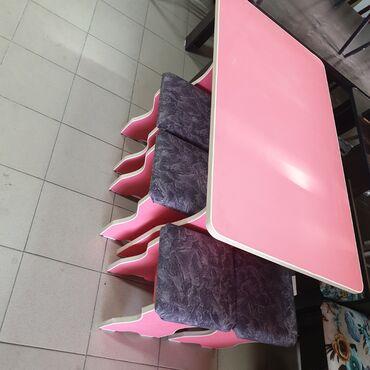 Стол тобуретка 110×65 4шт тобуретка по городу доставка бесплатно