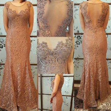 uslugi mashiny s kranom в Кыргызстан: Продаю вечернее платье. Размер подойдет на 40-44 (S-M). Возможен неб