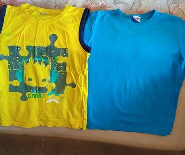 детские вещи б у в Кыргызстан: Детские футболки Б/У, возраст 3-4 года. Цена одной 100 сом