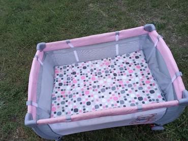 Другие товары для детей в Кемин: Продается детская кроватка, в хорошем состоянии, складывается, все