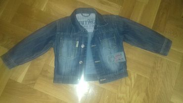 Teksas jaknica za decake,velicina 92,kao nova.Sirina ramena - Smederevo