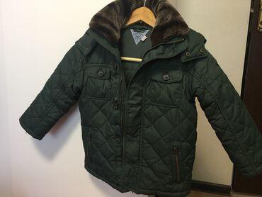 Детский мир - Кыргызстан: Продаю детскую зимнюю куртку на мальчика, 6 лет, рост 116 см. Фирма Ch