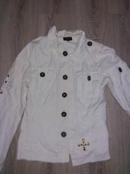 Beli jaknica, a moze biti i sako kako zelite vise da nosite - Ruski Krstur
