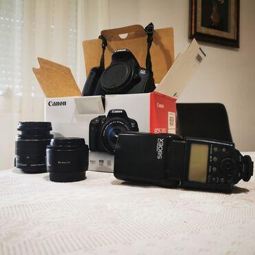Fotoaparati | Srbija: Canon 700d u perfektnom stanju bukvalno kao nov.Uz ide objektiv canon