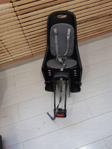Детское кресло для велосипеда, в отличном состоянии брали в Gergert