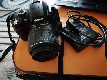 Продаётся фотоаппарат из Америки Nikon, с зарядкой, флешкой и с сумкой
