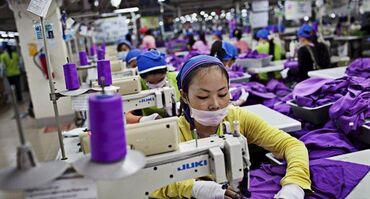 Работа в Баетов: В фабрику по производству женской одежды требуются швеи! Комфортные ус