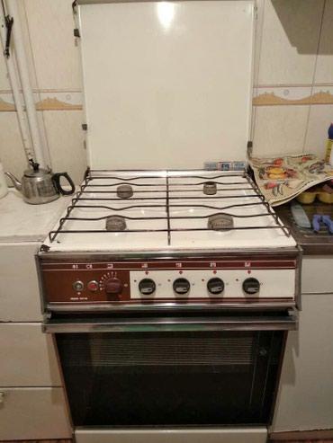 Продаю газовую плиту в отличном состоянии! 4000 сом... в Бишкек