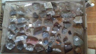Samo za kolekcionare minerali oko 150 minerala - Belgrade