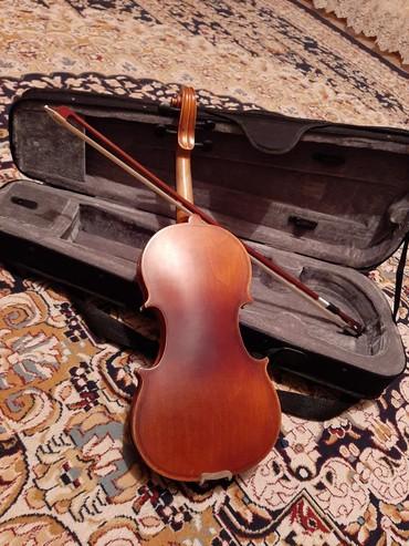 Скрипки в Кыргызстан: Скрипка 1/4. В хорошем состоянии (почти новая). Стоимость 5000 сом вм