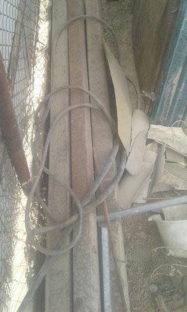 Продаю трубы.стойки стройматериалы б у  в Бишкек
